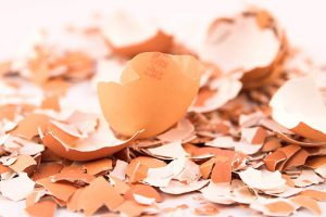 egg shells make coffee less acidic