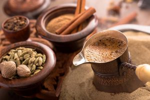 turkish coffee with spices